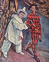 Mardi Gras, 1888, cezanne