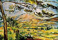 Mont Sainte-Victoire, 1887, cezanne