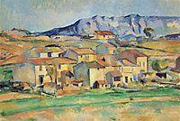 Mont Sainte-Victoire, c.1890, cezanne