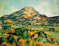 Mont Sainte-Victoire, c.1895, cezanne
