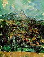 Mont Sainte-Victoire, c.1902, cezanne