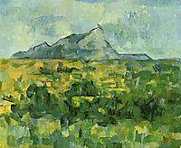 Mont Sainte-Victoire, c.1906, cezanne