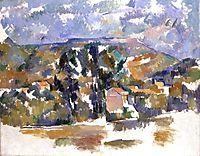 Mont Sainte-Victoire Seen from les Lauves, 1905, cezanne