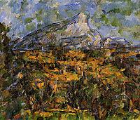 Mont Sainte-Victoire Seen from les Lauves, c.1906, cezanne