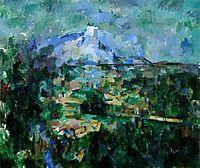 Montagne Sainte-Victoire from Lauves, c.1905, cezanne