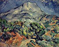 Montagne Sainte Victoire, road, 1898-1902, cezanne
