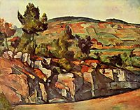 Mountains in Provence, 1890, cezanne