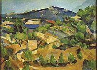 Mountains in Provence. L-Estaque, c.1880, cezanne