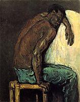 The Negro Scipio, 1867, cezanne