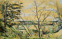 The Oise Valley, c.1880, cezanne