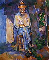 The Old Gardener, 1906, cezanne