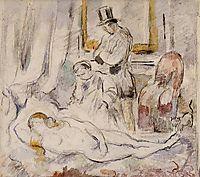 Olympia, 1875, cezanne
