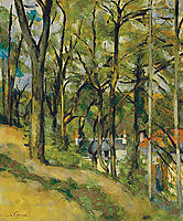 The Orchard, 1877, cezanne