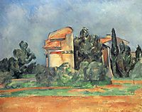 The Pigeon Tower At Bellevue, c.1890, cezanne