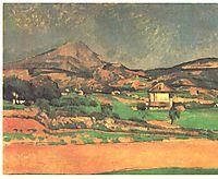 Plain by Mont Sainte-Victoire, cezanne