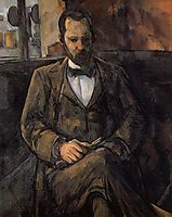 Portrait of Ambroise Vollard, 1899, cezanne