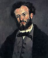 Portrait of Anthony Valabregue, c.1870, cezanne