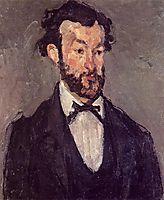 Portrait of Antoine Valabregue, c.1871, cezanne