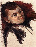 Portrait of the Artist-s Son, 1885, cezanne