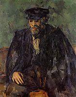 Portrait of the Gardener Vallier, c.1906, cezanne