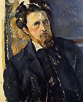 Portrait of Joachim, 1896, cezanne