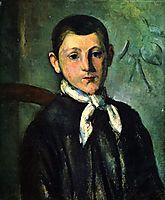 Portrait of Louis Guillaume, c.1880, cezanne