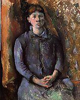 Portrait of Madame Cezanne, c.1886, cezanne