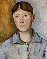 Portrait of Madame Cezanne , c.1890, cezanne