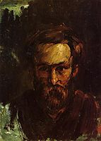 Portrait of a Man, 1864, cezanne