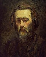 Portrait of a Man, 1864, cezanne