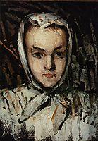 Portrait of Marie Cezanne, the Artist-s Sister, 1867, cezanne