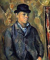 Portrait of the son of Paul Cezanne, 1888-1890, cezanne