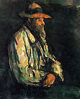 Portrait of Vallier, 1906, cezanne