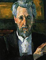 Portrait of Victor Chocquet, 1877, cezanne