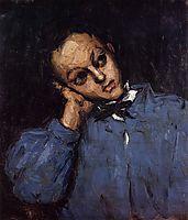 Portrait of a Young Man, 1866, cezanne