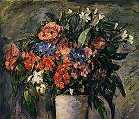 Pot of Flowers, 1876, cezanne