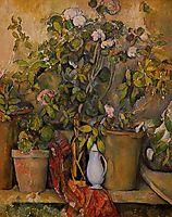 Potted Plants, 1890, cezanne