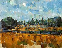 Riverbanks, 1905, cezanne