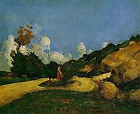 Road, 1871, cezanne