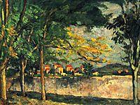 Road, 1876, cezanne