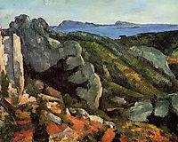 Rocks at L-Estaque, c.1882, cezanne
