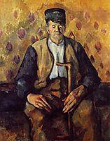 Seated Peasant, c.1904, cezanne