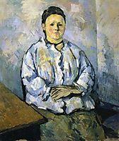Seated Woman, 1879, cezanne