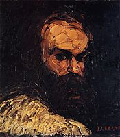 Self-Portrait, 1866, cezanne