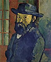 Self-portrait, 1879-1882, cezanne