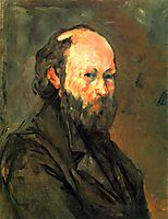 Self-Portrait, 1880, cezanne
