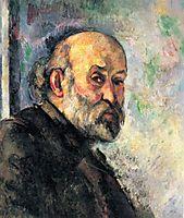 Self-Portrait, c.1895, cezanne