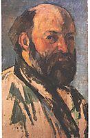 Self-portrait, cezanne