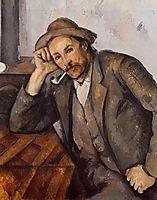 Smoker, 1892, cezanne