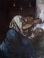 Sorrow, 1867, cezanne